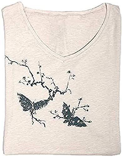 Museo del Prado Camiseta, Beige, Talla S para Mujer