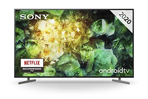 "Televisor Sony KE-55XH8196 - HDR Android TV 55"" (procesador X1 4K HDR, Triluminos, X-Reality Pro, MotionFlow XR, Dolby Vision, Dolby Atmos, calibración automática CalMAN, Control por Voz) Negro"