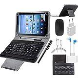 Multi-accessori: 1 * tablet da 10,1 pollici, 1 * LED USB (utilizzabile per l'illuminazione), 1 * convertitore OTG, 1 * mouse wireless, 1 * tastiera Bluetooth, 1 * custodia per tablet, 1 * cuffia, 1 * USB Cavo dati, 1 * caricabatterie, 1 * penna touch...