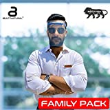 Reusable Safety Face Shield (5 Frame + 10 Reusable Shields), Anti-fog, Anti Splash, Flexible, One Size Fits All, Light Weight Frame, Universal Face and Eye Protection for Men, Women & Kids. CE Quality Certified by EU Standard Directives, Made in INDIA.