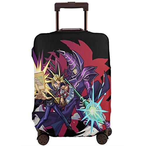 Coperture per valigie Duel Monsters Protezione per valigia da viaggio Cerniera Copri valigia Lavabile Stampa moda Copri valigia Protezione per valigia da viaggio con cerniera