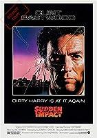 ポスターダーティハリー4Sudden Impact1983年クリント・イーストウッド/ハリー・キャラハン