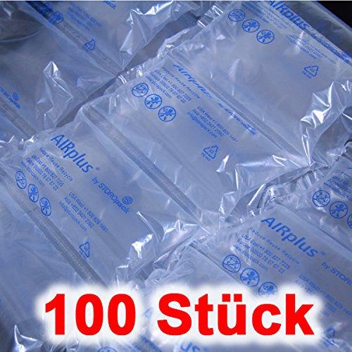 100 x AIRplus® Luftkissen Luftpolsterkissen Füllmaterial Luftpolster Lufttaschen