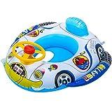 Creacom Anillo de Flotador de natación Inflable para bebés, Estilo Aleatorio Anillo de Flotador de natación Inflable para bebés Anillo de natación de Dibujos Animados de Verano para bebés y niños