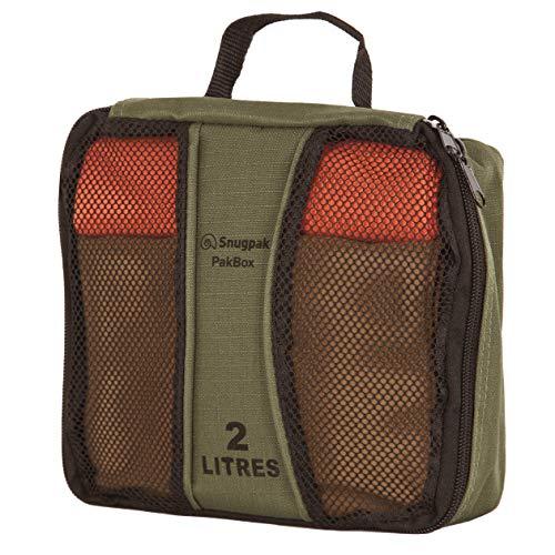 Snugpak | PakBox | Parfait pour organiser les vêtements, le matériel et les accessoires 2 vert olive