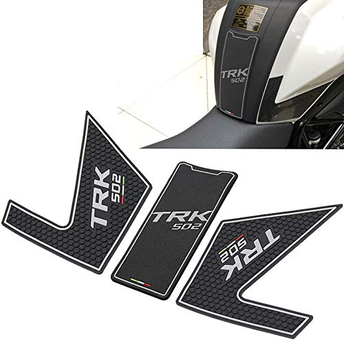 Motorcycle Tank Pad Protector Sticker Decal Gas Knee Grip Tank Traction for Benelli TRK502 TRK 502 502X