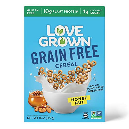 magic spoon flavors Love Grown Grain Free Cereal, Honey Nut, 8 Oz