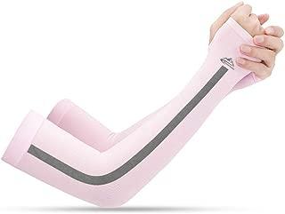 XGTsg Manchon Manches Sport Manches sans Coutures Respirant /Écran Solaire Ext/érieur Super /Élastique Protection UV Manchon De Glace