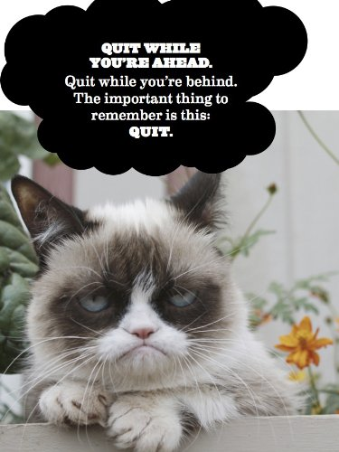 The Grumpy Guide to Life: Observations from Grumpy Cat (Grumpy Cat Book, Cat Gifts for Cat Lovers, Crazy Cat Lady Gifts)