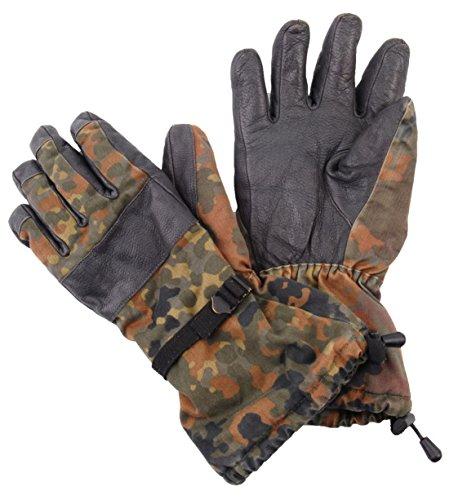 Unbekannt ORIGINAL BUNDESWEHRSHIRT KALTEM Wetter-Look Camouflage Handschuhe Goretex BEKÄMPFEN, KLASSE 1