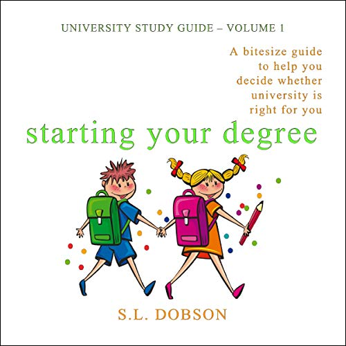 Starting Your Degree audiobook cover art