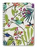 Ladytimer Ringbuch Nature Art 2017 - Taschenplaner / Taschenkalender A5 - Weekly - Ringbindung - 128 Seiten