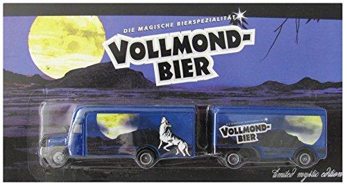 Wolfshöher Nr.52 - Vollmond Bier - MB L311 Koffer - Hängerzug Oldie