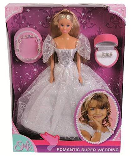 Simba Steffi Love 105738979 Romantic Superwedding - Muñeca con vestido de novia...