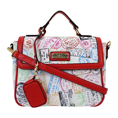 ALV by Alviero Martini - Handbag SUMMER PASSPORT with removable shoulder strap waterproof and durable for woman