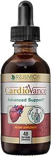 CardioVance - Blood Pressure Support | Fast-Acting Liquid Formula | Hawthorne, Olive Leaf, Ashwagandha & More