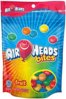 AirHeads Chewy Bites Resealable Bag 9oz (Fruit Bites)