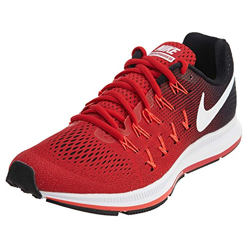 Nike Men's Air Zoom Pegasus 33, University Red/White/Black - 14 D(M) US