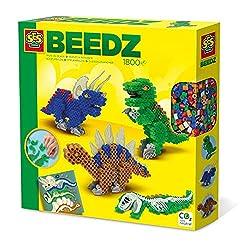 4. SES Creative Iron on Beads-Dinos (1800pcs)