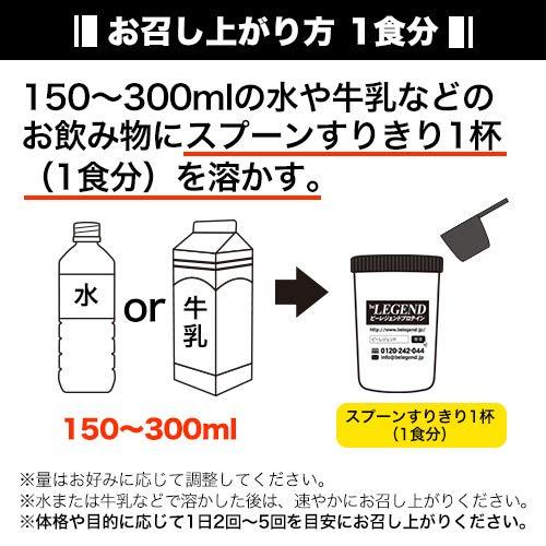 『ビーレジェンド ホエイプロテイン ポコちゃん ミルキーココア風味1kg』のトップ画像
