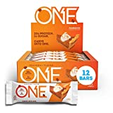 ONE 1 Protein Bars, Pumpkin Pie, Gluten Free Protein Bars with 20g Protein and only 1g Sugar, G…