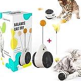 normals giocattoli per gatti, giocattoli interattivi per gatti da interno, giochi interattivi,leobks giocattolo interattivi per gatti con erba gatta palla migliora il iq