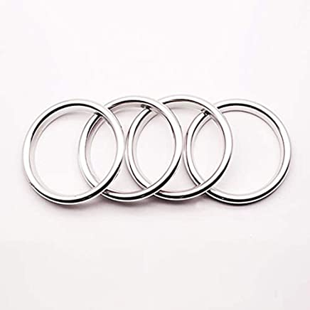 Freenavi Air Conditioning Ring Cover Air Exit Cover Decoration Sticker for Audi A3 S3 2013-