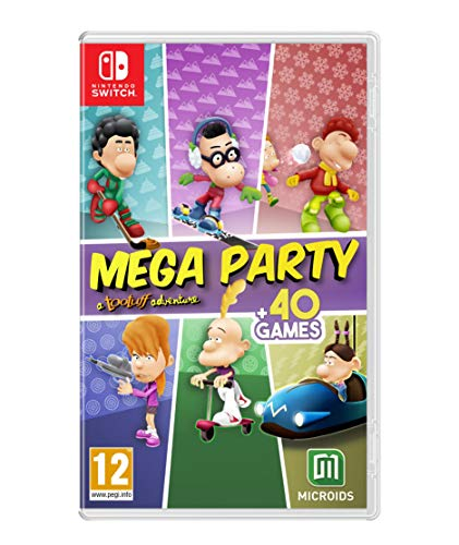 Jogo Mega Party A Tootuff Adventure Nintendo Switch