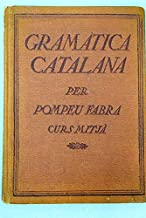 GRAMATICA CATALANA. CURS MITJA.