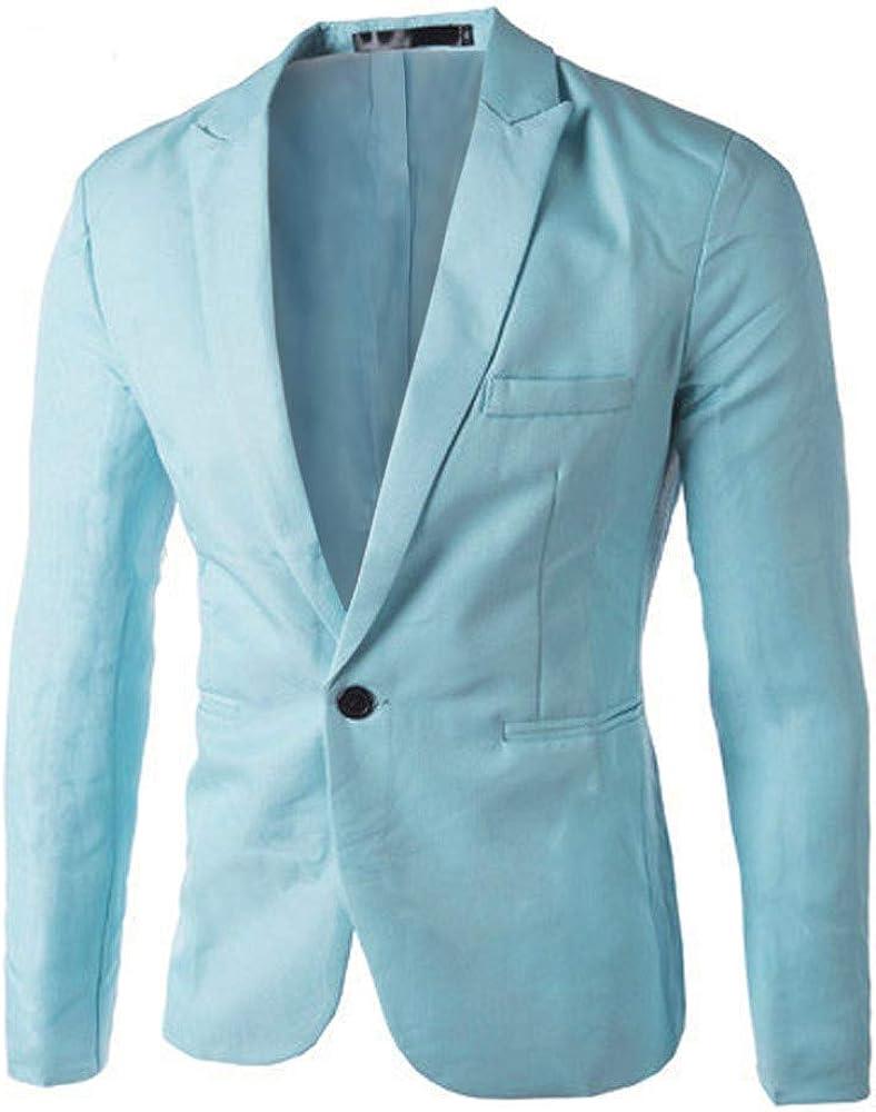 Men's Blazer Slim Fit Big Tall Sport Solid Max 42% OFF Casual Coats free shipping Lightwe