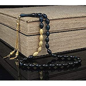 925er echt Silber Gravur + Anhänger, Tesbih mit Personalisierung, Tesbih mit Namen, Tesbih mit Gravur, Gebetskette mit…