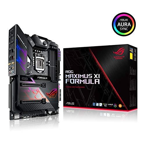 ASUS 90MB0x u0-m0eay0–Rog Maximus XI formula Intel Z3901151ATX Xfire/SLI HDMI Wi-Fi 5g LAN RGB illuminazione