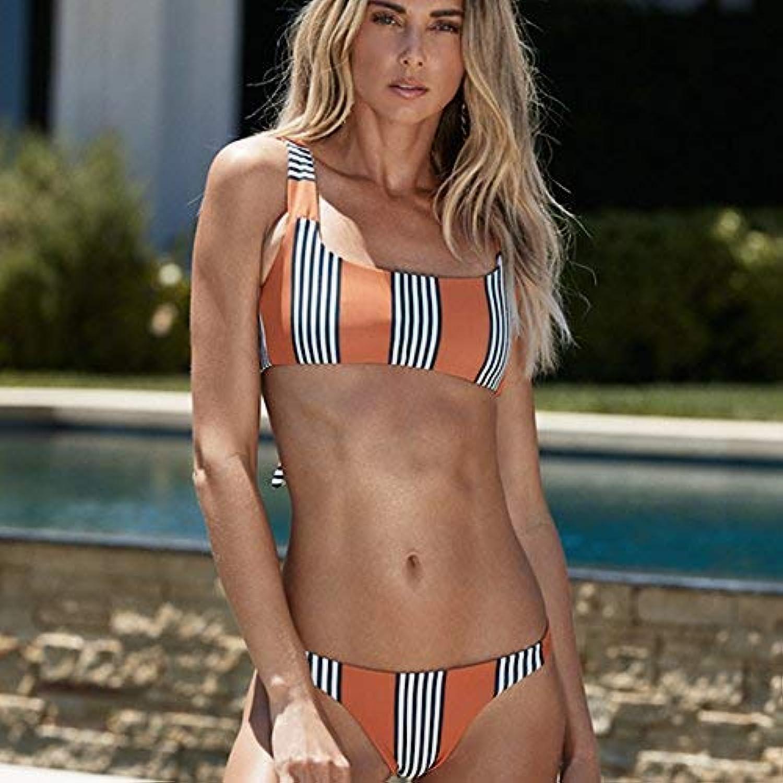 FuweiEncore Bikini-Mode Frau Badeanzug Bikini Anzug (Farbe   L, Größe   -) B07MJDFNWB  Großer Verkauf
