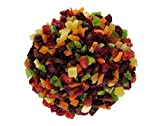 Berries And Nuts Candied Mixed Dried Fruits | Sun Dried Fruits - Pineapple, Apple, Papaya, Mango, Pomelo | Healthy & Tasty | (200 Grams)