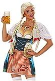 Widmann 9439W – Damenschürze Bavaria, bayerische Frau, Grillschürze, Bierkrug, Oktoberfest, Volksfest, Grillparty, Motto Party, Karneval - 3