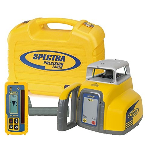 Spectra Precision LL300N-4 LL300N Laser Level with HL450 – Yellow
