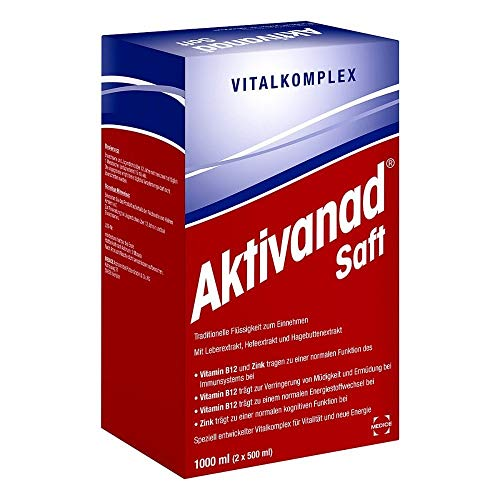 Aktivanad Saft, 2x500 ml Lösung