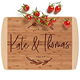 Personalized Cutting Board, 12 Designs & 2 Sizes, Bamboo Cutting...