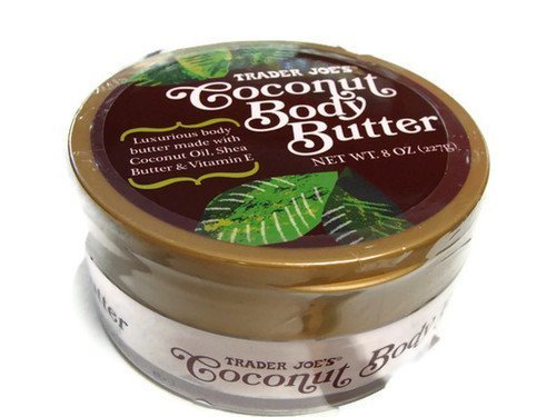 Trader Joe's Coconut Body Butter made with Coconut Oil, Shea Butter &...