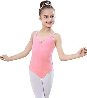 Miyanuby Ragazze Tutu Danza Abiti Leotard Vestito Ginnastica Abbigliamento Balletto Dancewear Danza Body 4-14 Anni