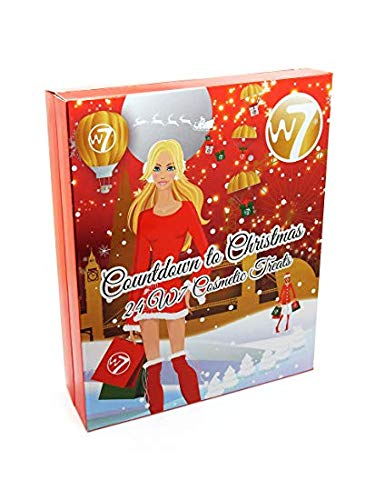 W7 Adventskalender Countdown to Christmas, 1er Pack (1x 24 Stück)