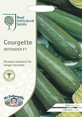 Mr Fothergills???L?gumes???RHS Courgette Defender F1?10?graines