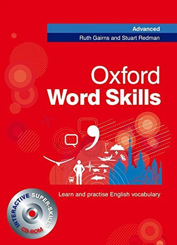 Oxford Word Skills Advanced: Student\'s Pack (Book and CD-ROM) by Ruth Gairns Stuart Redman(2009-03-05)