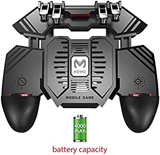 ACHICOO AK77 Mobile Game Controller Trigger Joystick Gamepad Mobile Phone Gamepad Transmitter Handle for PU/BG With 4000ma...