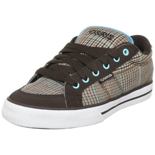 Osiris Barron W 22341189, Damen Sneaker, braun/kariert/blau, 38 EU / 5 UK