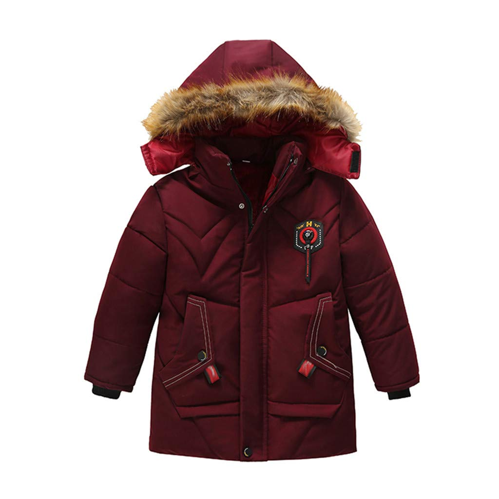 Baby Boys Boston Mall Down Jacket Winter Charlotte Mall Puffer Coat Hooded Thick Windproof