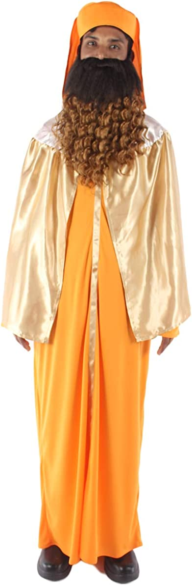 Adult Men's Al sold out. Wise Gaspar Cheap mail order sales Religious Cosplay Costum Costume Multi