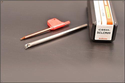 lowest 1pcs C05H-SCLCR03 CNC lathe solid carbide turning lowest tool holder boring bar , Tungsten steel shock tool holder , Tungsten steel shock alloy Arbor 2021 , holder diameter 5 mm, holder total length 100 mm outlet sale