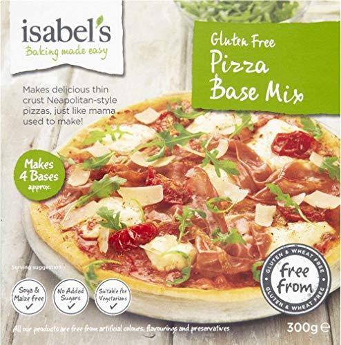 Isabelle de gluten free Pizza base mix 300g