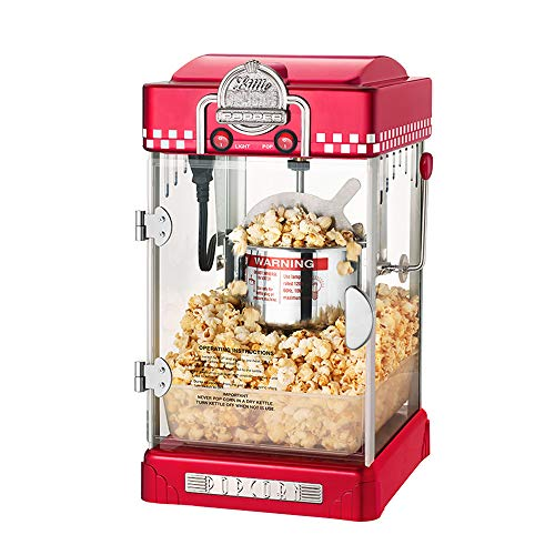 Buy Discount MXBAOHENG Home Popcorn Machine Automatic Popcorn Maker Children's Gift Suitable for Fam...